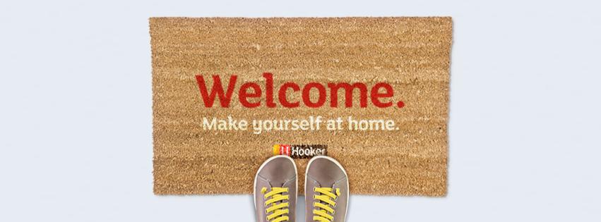 LJ Hooker Open Home Welcome Mat